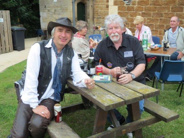 Bard on a Bike and meinhost, Jim of Rockingham, 21 June 2014